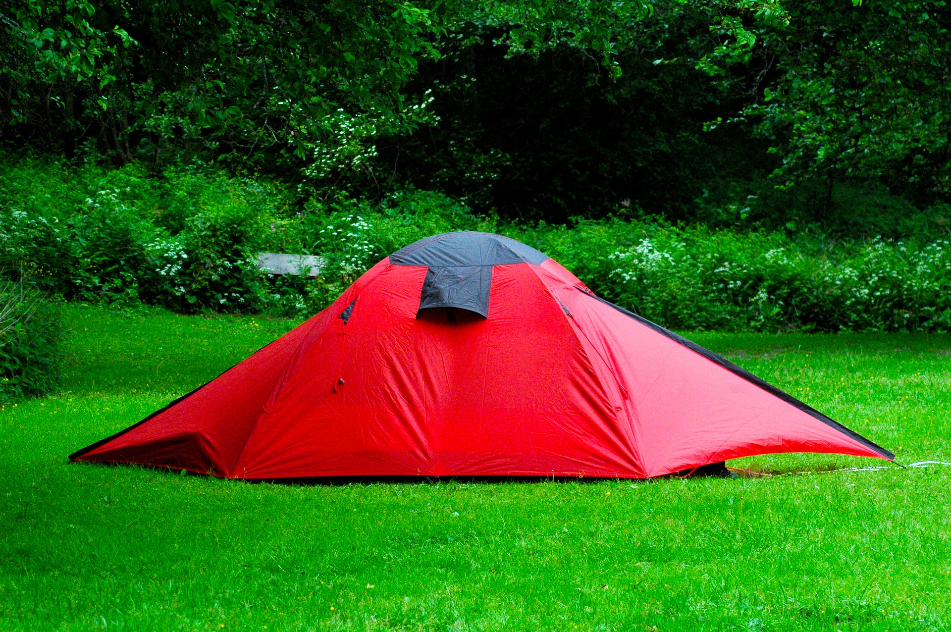 What are tents made from