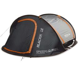 Speedy Blackhole 3 person pop up tent